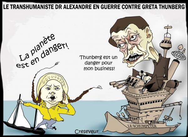 Laurent Alexandre jure la perte de Greta Thunberg.JPG