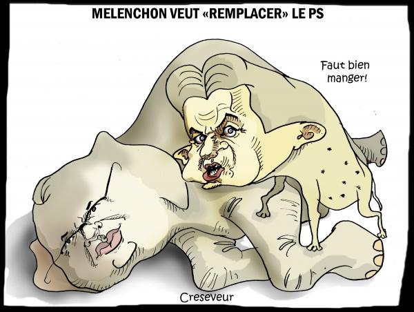 Mélenchon contre Menucci pour remplacer le PS.JPG