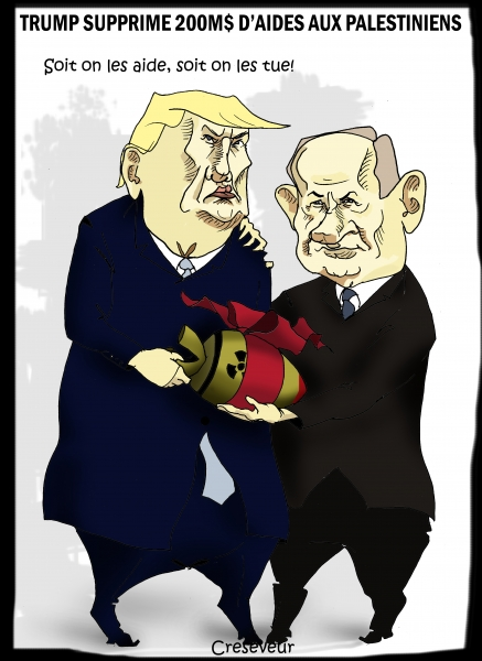 Trump supprime une aide aux palestiniens.JPG