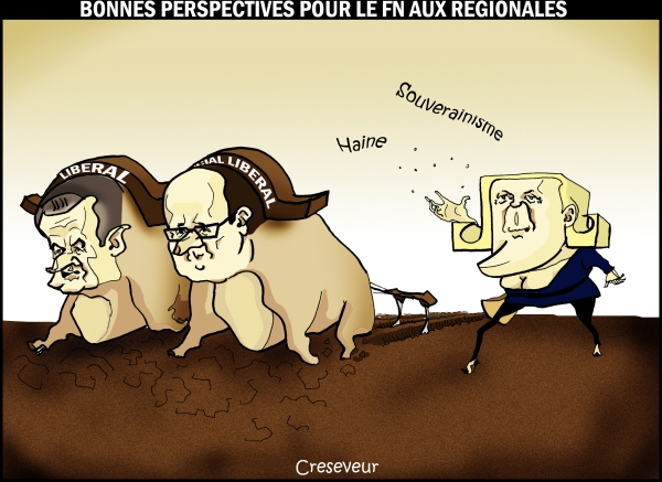 marine le pen, hollande, sarkozy, labour