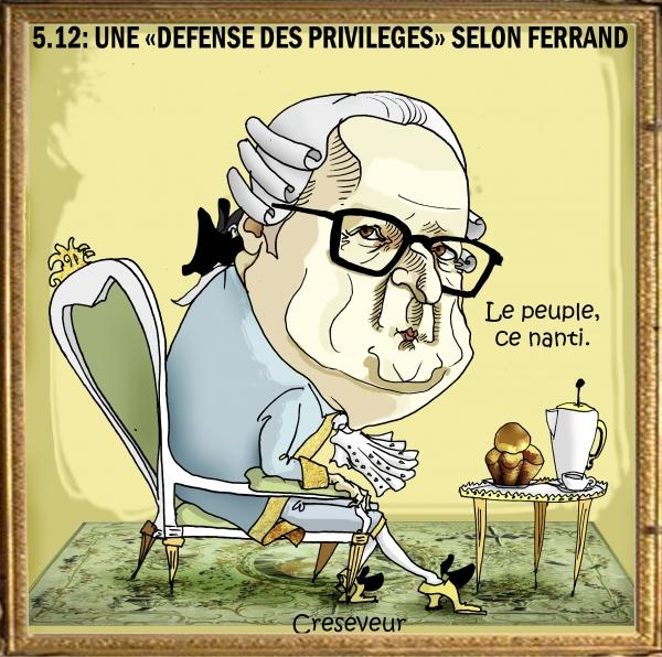 Ferrand prend le 5-12 pour 1 défense des privilèges.JPG