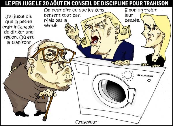 Les Le Pen vont laver leur linge en public.JPG