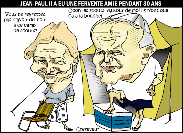JeanPaul II avait une bonne amie.JPG