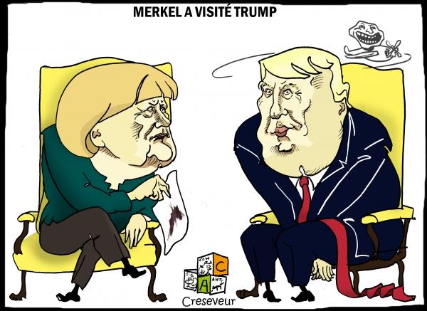 Trump a reçu Merkel.JPG