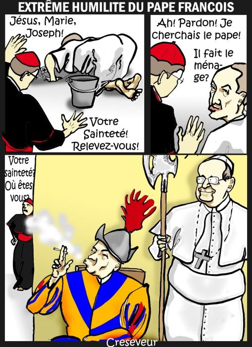 Le pape humble.JPG