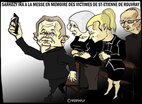 Sarkozy à la messe.JPG