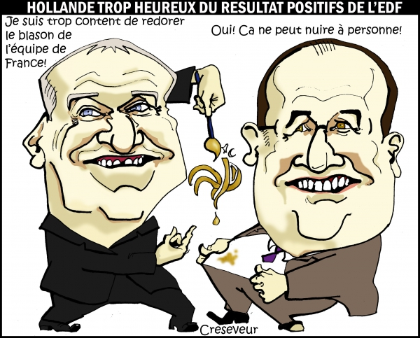 Deschamps et Hollande redorent leur blason.JPG