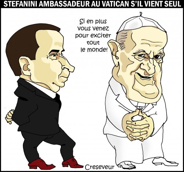 Le vatican refuse un ambassadeur en raison de son homosexualité.JPG