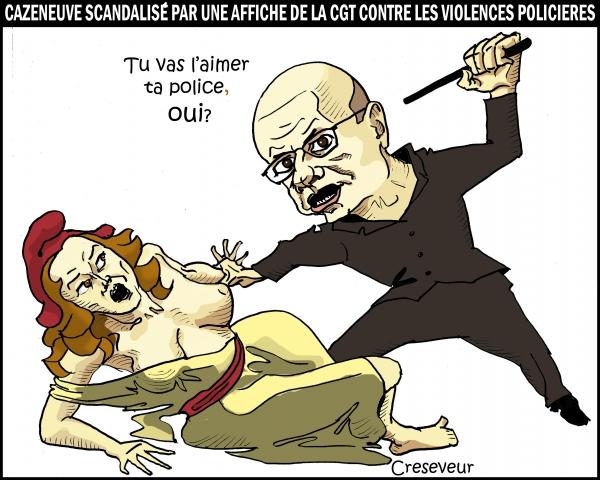 Cazeneuve et les violences policières.jpg