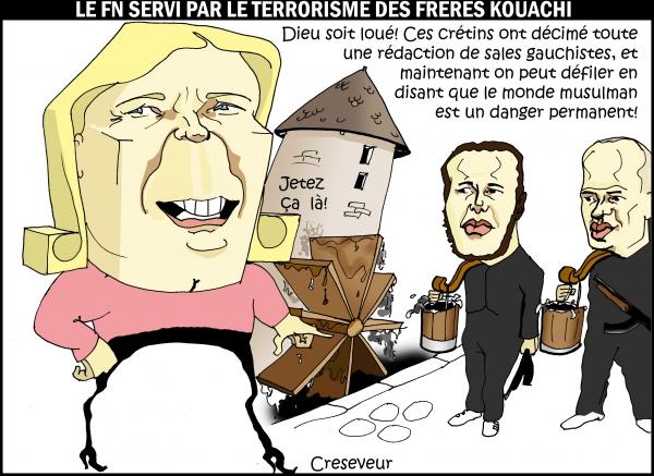 Le FN appuyé par les terroristes Kouachi.JPG