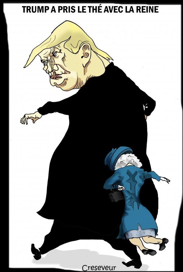 Trump rencontre la reine.JPG