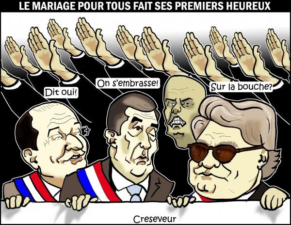 Mariage pour UMP-FN .JPG