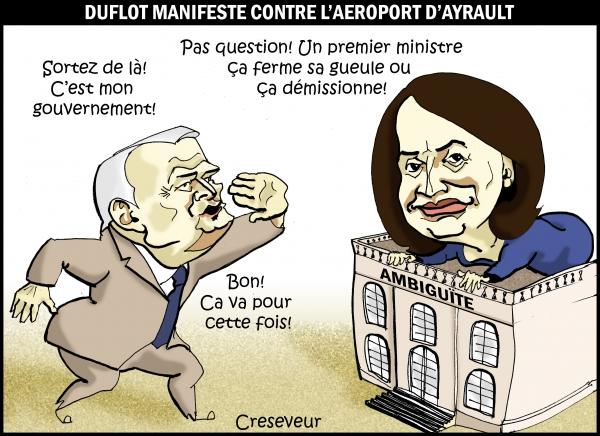 Duflot manifeste contre Ayrault.JPG