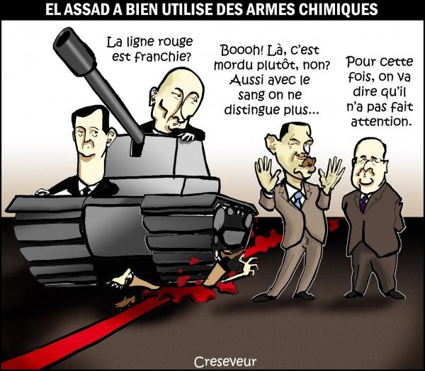 Assad franchi la ligne rouge .JPG