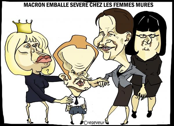 Macron séduit les femmes mûres.JPG