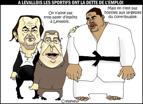 Balkany régale les sportifs à Levallois.JPG