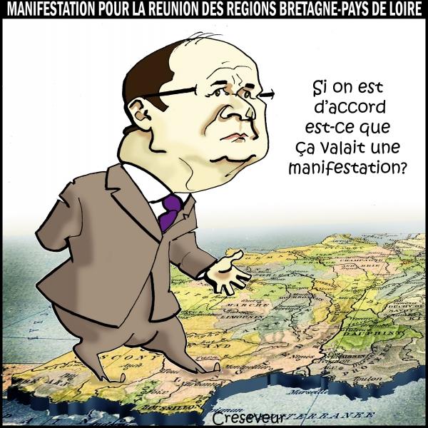 Hollande et les manifestants bretons.JPG