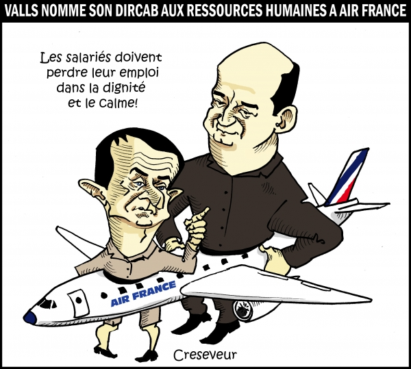 Valls nomme son dircab à Air France.JPG