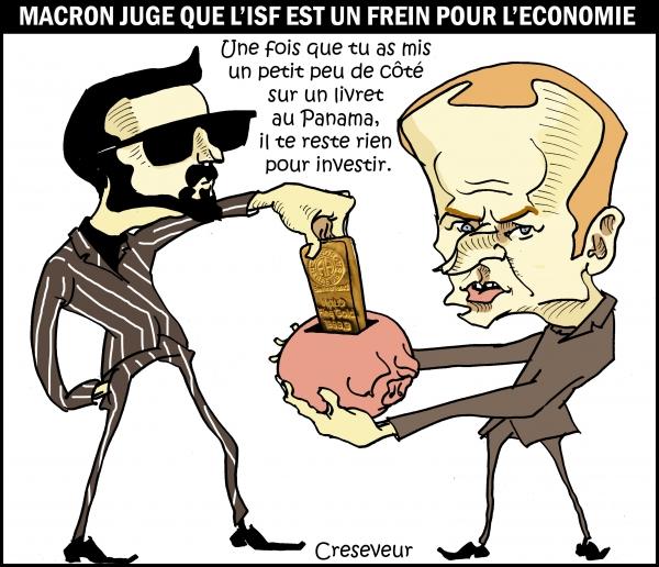 Macron contre l'ISF.JPG