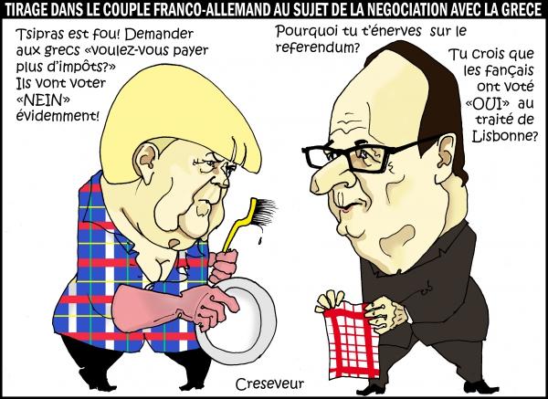 Hollande et Merkel s'opposent sur la Grèce.jpg