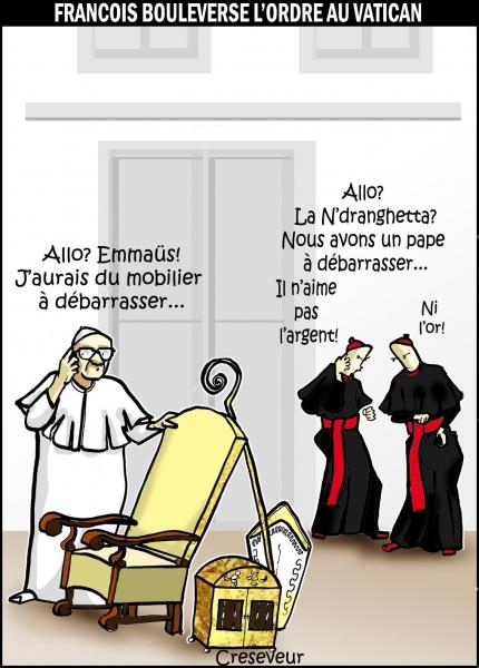 François bouleverse le Vatican .JPG