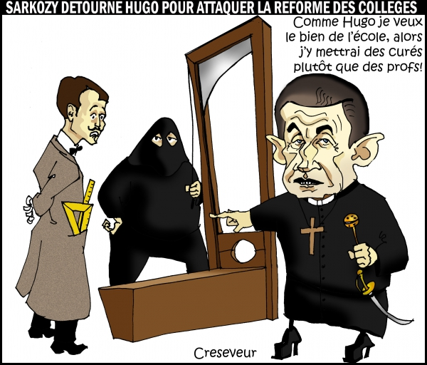Sarkozy détourne Hugo.JPG