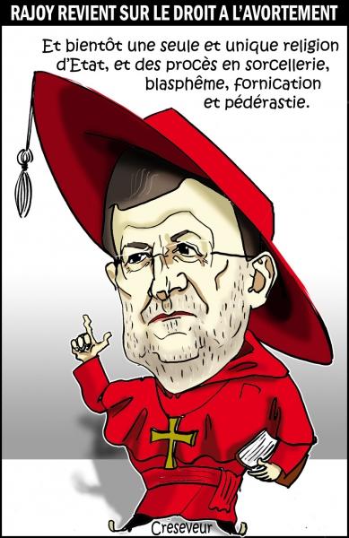 Rajoy l'inquisiteur .JPG