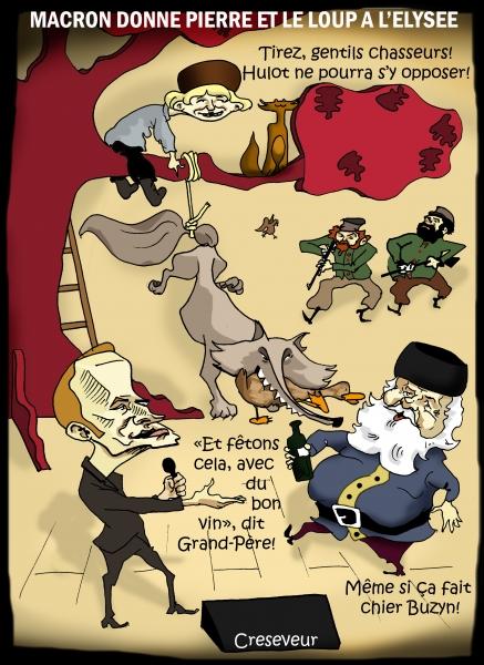Macron jour Pierre et le loup à l'Elysée.jpg
