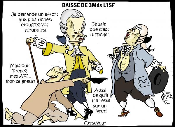 Macron baisse l'ISF.JPG
