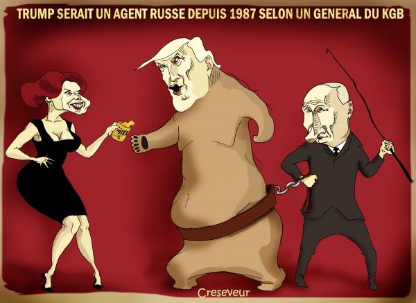 Trump agent russe selon un général du KGB.JPG