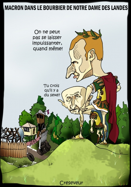 Macron dans le bourbier de NDDL.jpg
