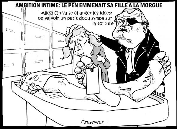 Le Pen emmenait sa fille à la morgue.JPG