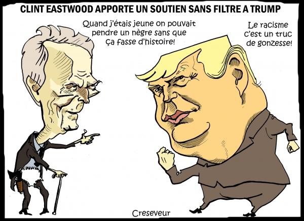 Eastwood soutient Trump.JPG