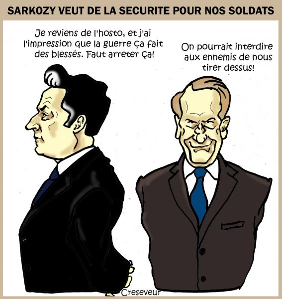 Sarkozy veut une guerre propre.jpg