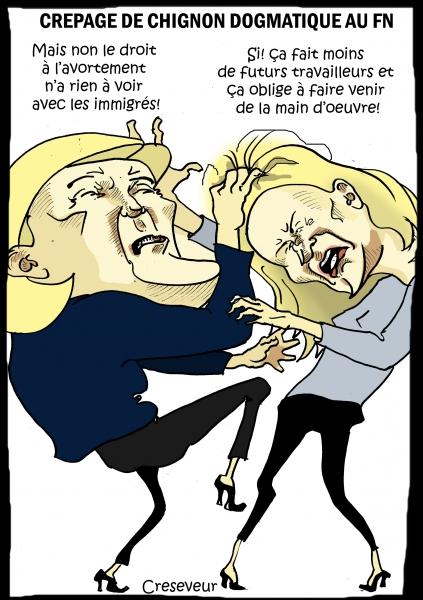 Le Pen recadre MMLP sur l'avorrtement.JPG