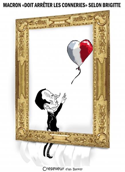 Macron démonétisé façon Banksy 2.JPG