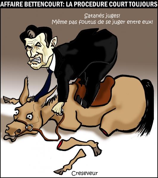 Sarkozy toujours en course dans l'affaire Bettencourt.JPG