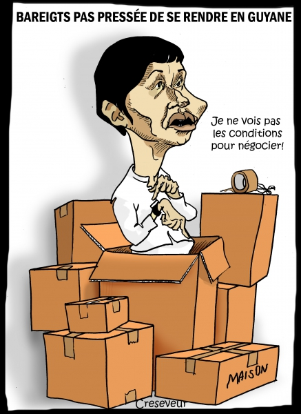 Bareigts laisse courir la grève en Guyane.JPG