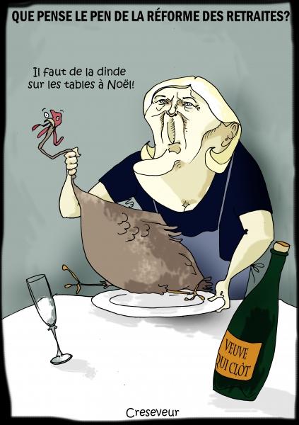 Le Pen et la réforme des retraites.JPG