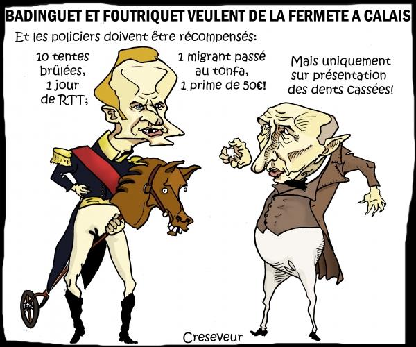 Badinguet et Foutriquet à Calais.JPG