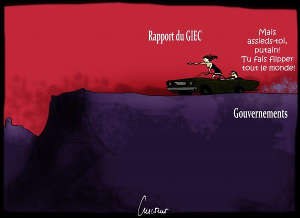 Rapport alarmant du GIEC.JPG