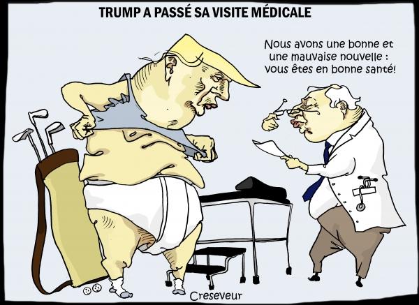 Trump fait sa visite médicale.JPG