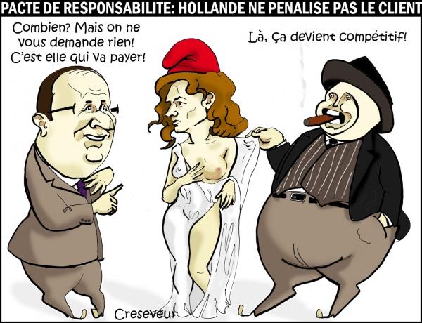 Hollande et le pacte d'irresponsabilité .jpg