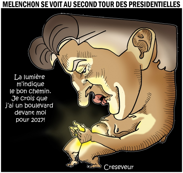 Mélenchon se pronostique au second tour en 2017.JPG