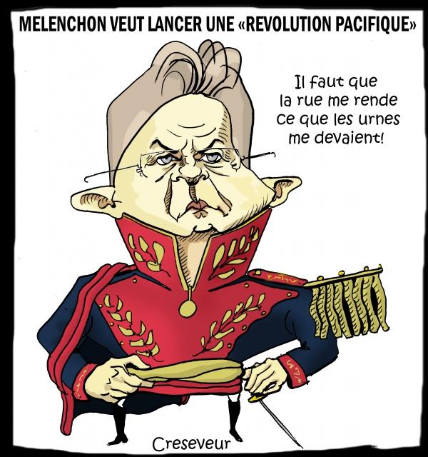 Mélenchon lance sa révolution bolivarienne le 23.JPG