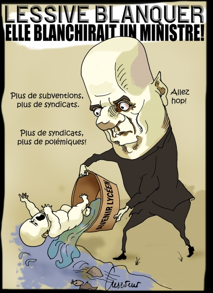 Blanquer ne subventionnera plus les syndicats.JPG