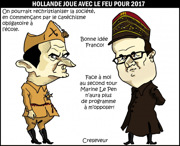 Hollande joue avec le feu pour 2017.JPG