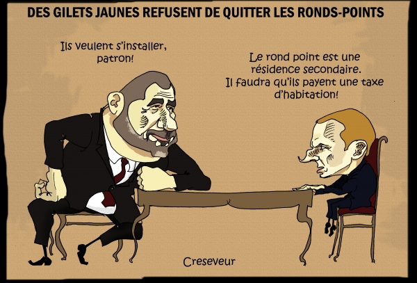 Macron et les gilets jaunes irréductibles.jpg