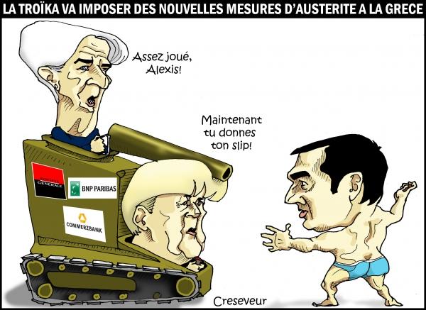 La troïka veut de nouvelles mesures d'austérité.JPG