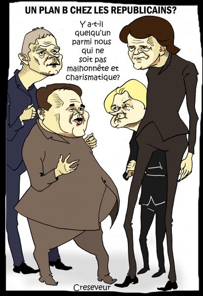 baroin,pécresse,bertrand,wauquiez,lr,les républicains,fillon,pénélope fillon,dessin de presse,caricature